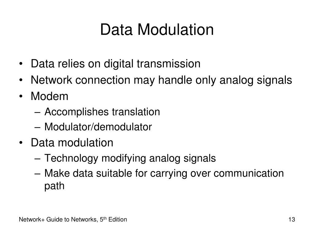 Data Modulation