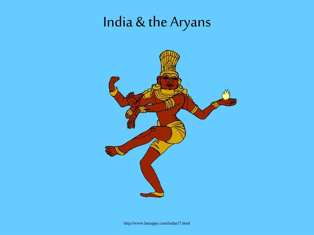 india the aryans l.