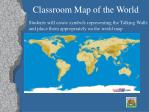 classroom map of the world