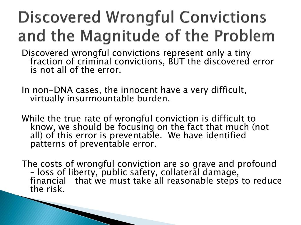 Discovered Wrongful Convictions and the Magnitude of the Problem