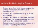 activity 5 watching the returns17