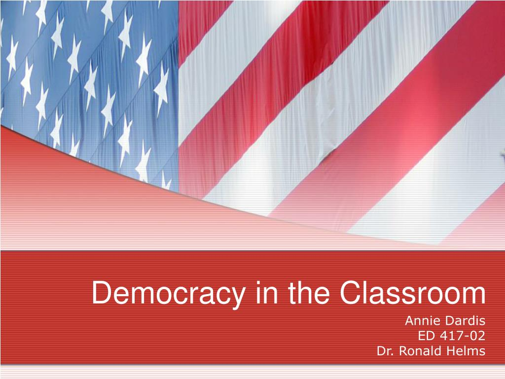 democracy in the classroom l.