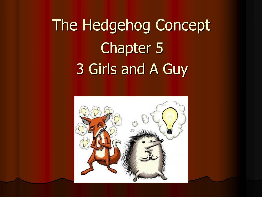 the hedgehog concept l.