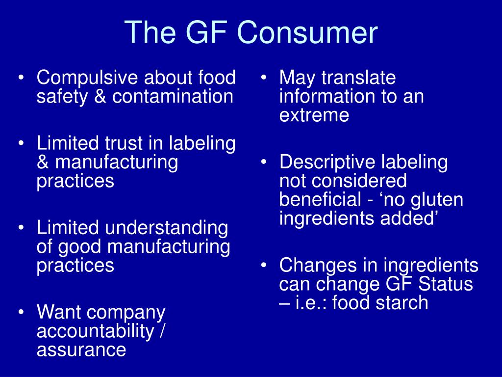 Compulsive about food safety & contamination