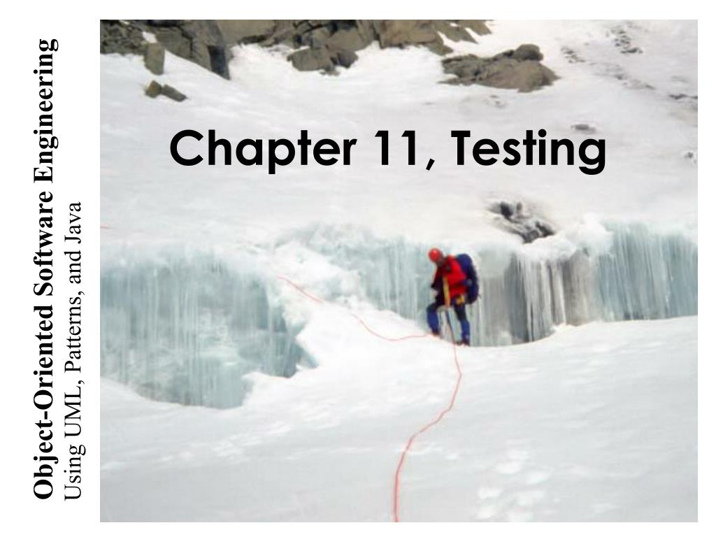 chapter 11 testing