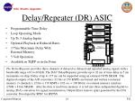 delay repeater dr asic