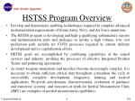 hstss program overview