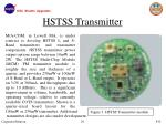 hstss transmitter