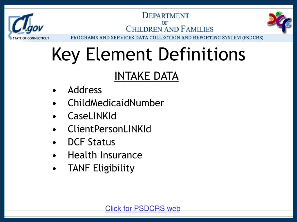 Key Element Definitions