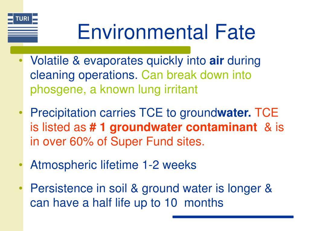 Environmental Fate