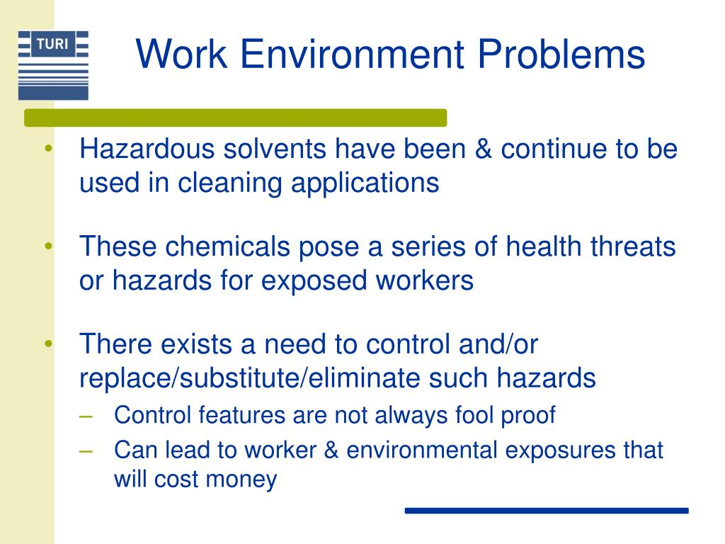 Work Environment Problems