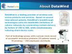 about datawind