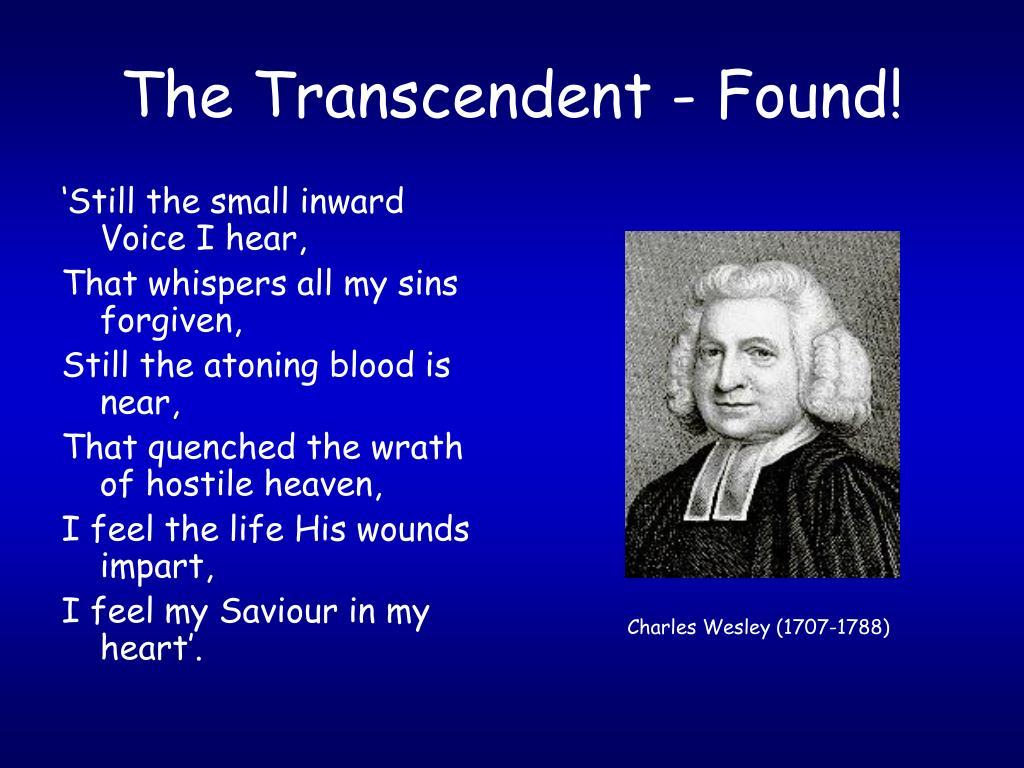 The Transcendent - Found!