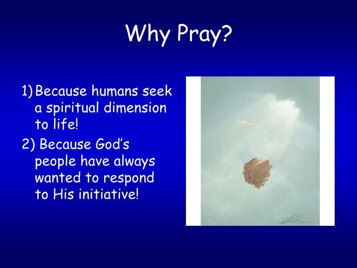 Why pray2