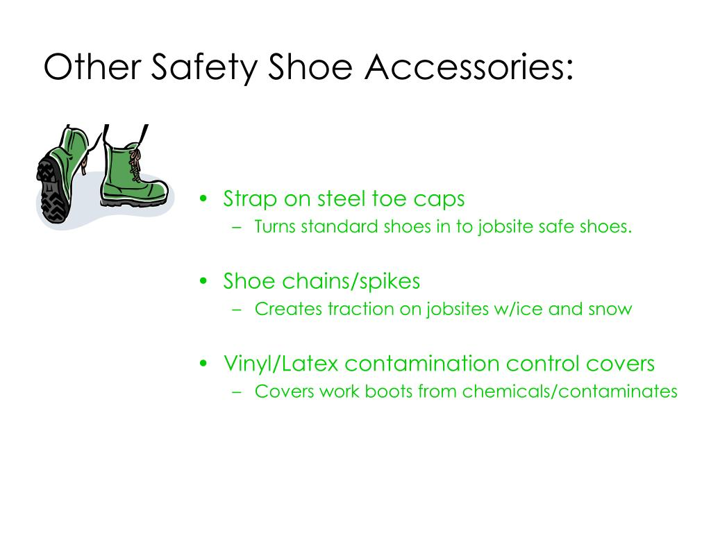 Other Safety Shoe Accessories: