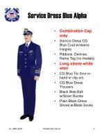 service dress blue alpha
