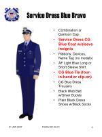 service dress blue bravo