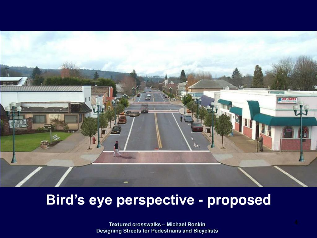 Bird's eye perspective - proposed