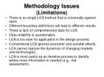 methodology issues limitations