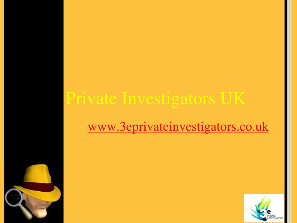 private investigators uk l.