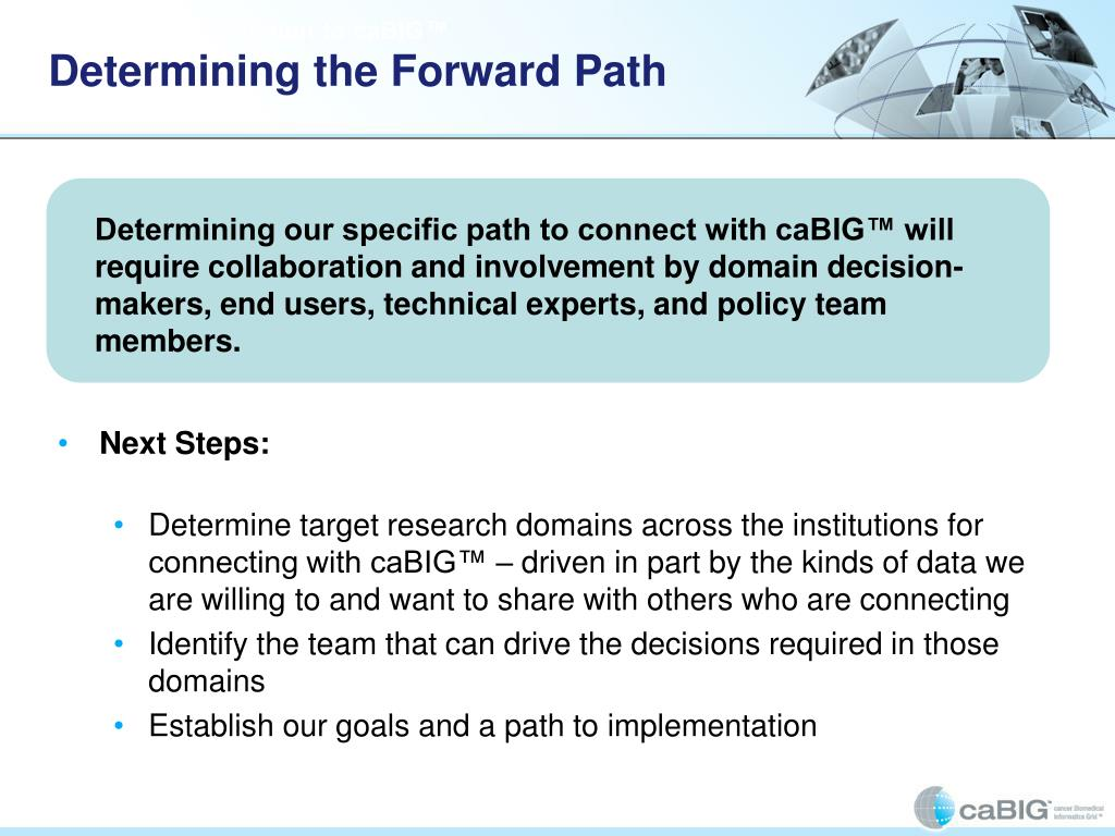 Determining the Forward Path