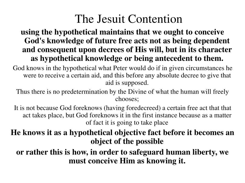 The Jesuit Contention