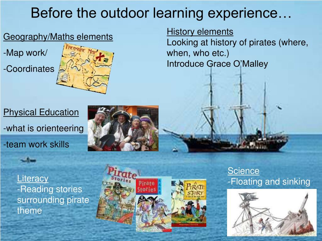 Before the outdoor learning experience…