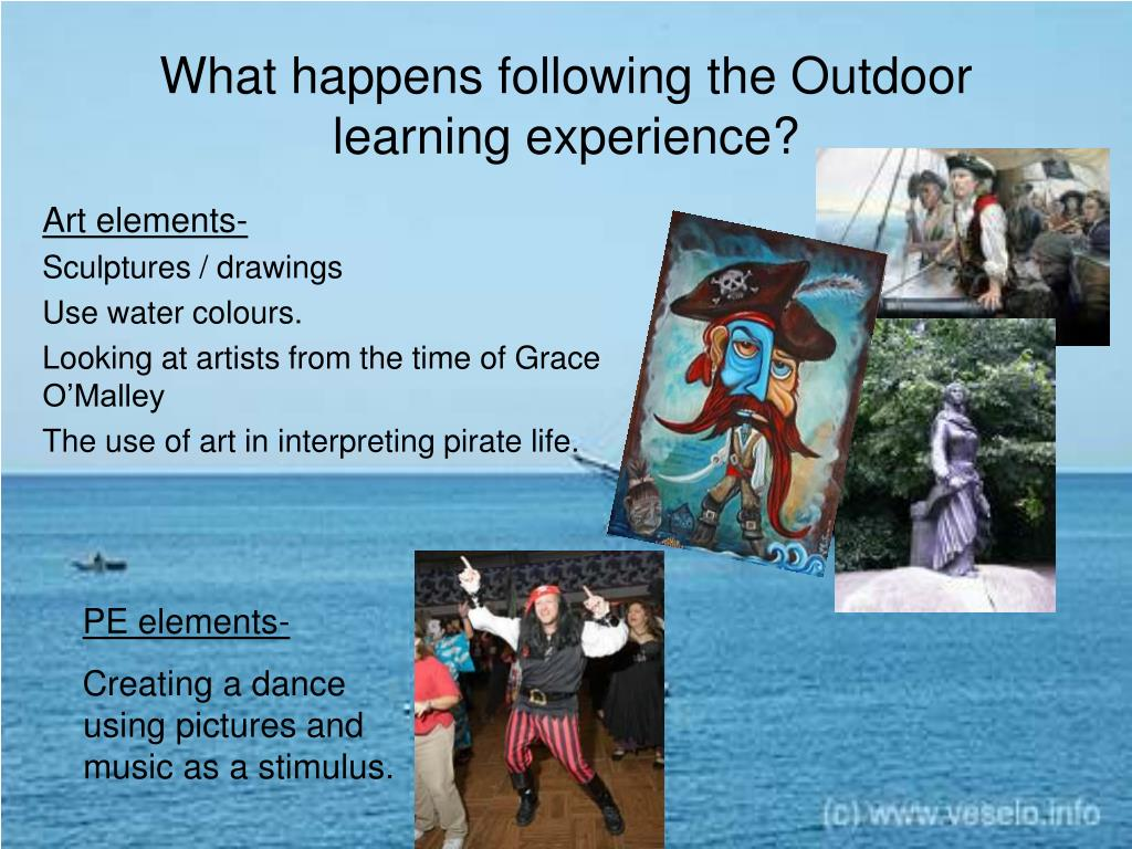 What happens following the Outdoor learning experience?