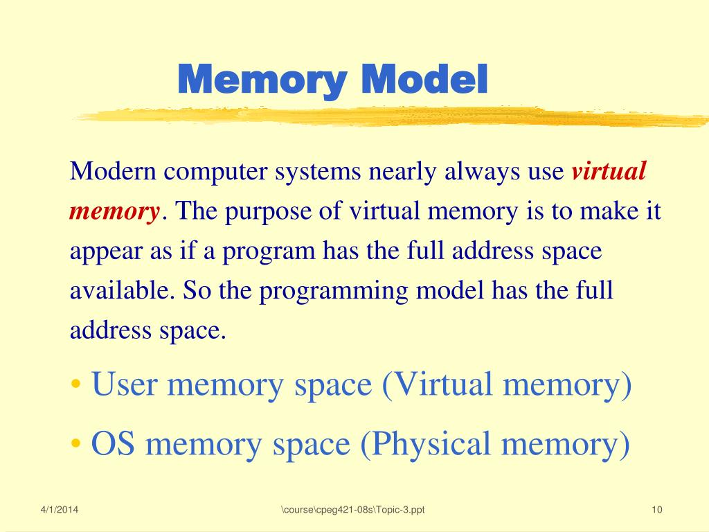 Modern computer systems nearly always use