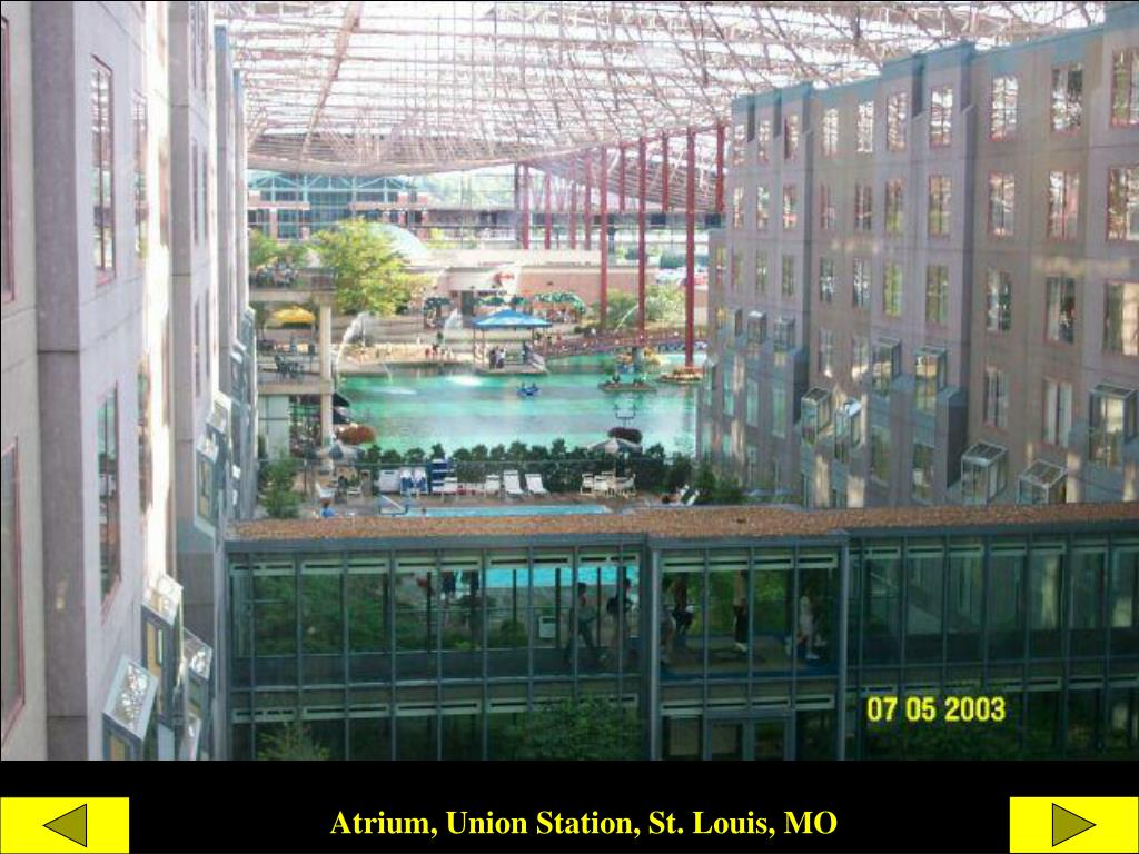 Atrium, Union Station, St. Louis, MO
