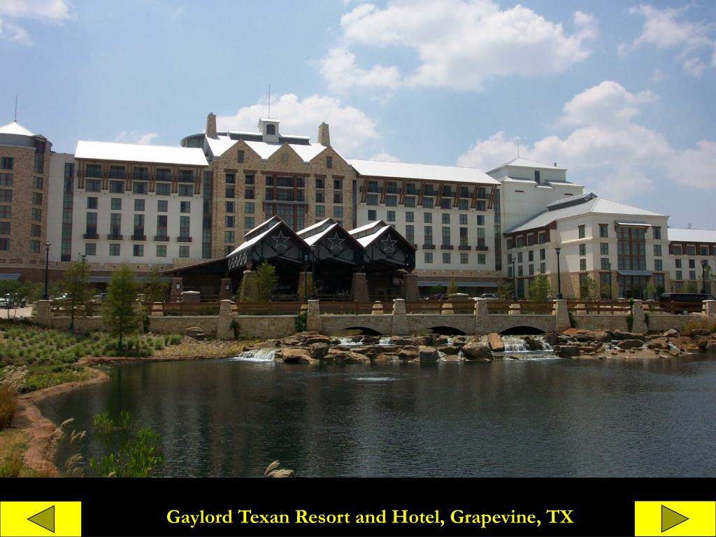 Gaylord Texan Resort and Hotel, Grapevine, TX