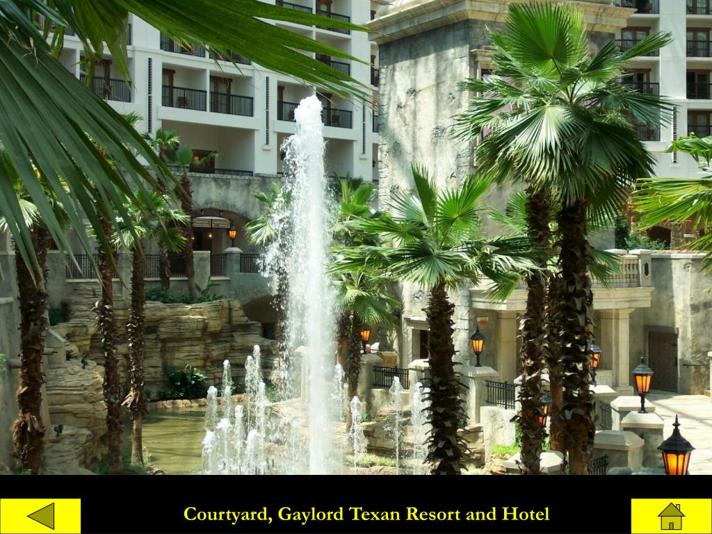 Courtyard, Gaylord Texan Resort and Hotel