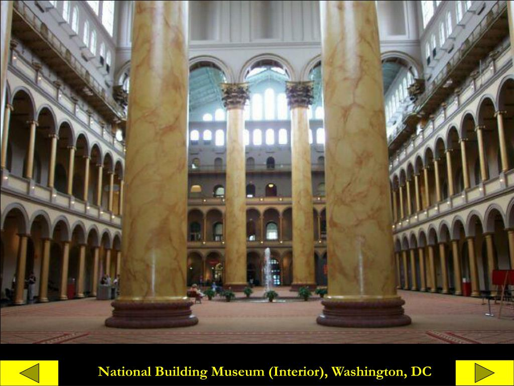 National Building Museum (Interior), Washington, DC