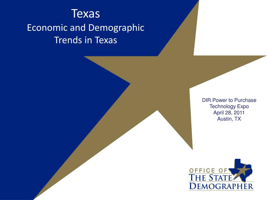 texas economic and demographic trends in texas l.