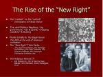 the rise of the new right