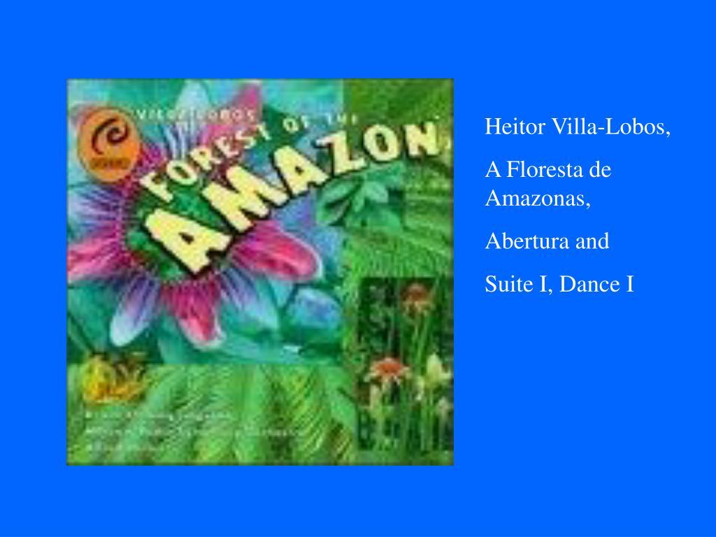 Heitor Villa-Lobos,