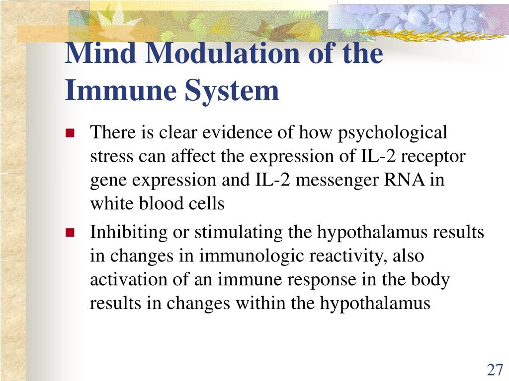 Mind Modulation of the Immune System
