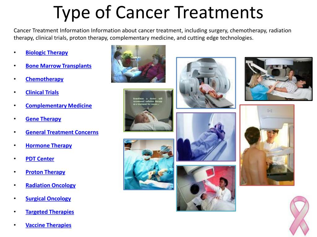Type of Cancer Treatments