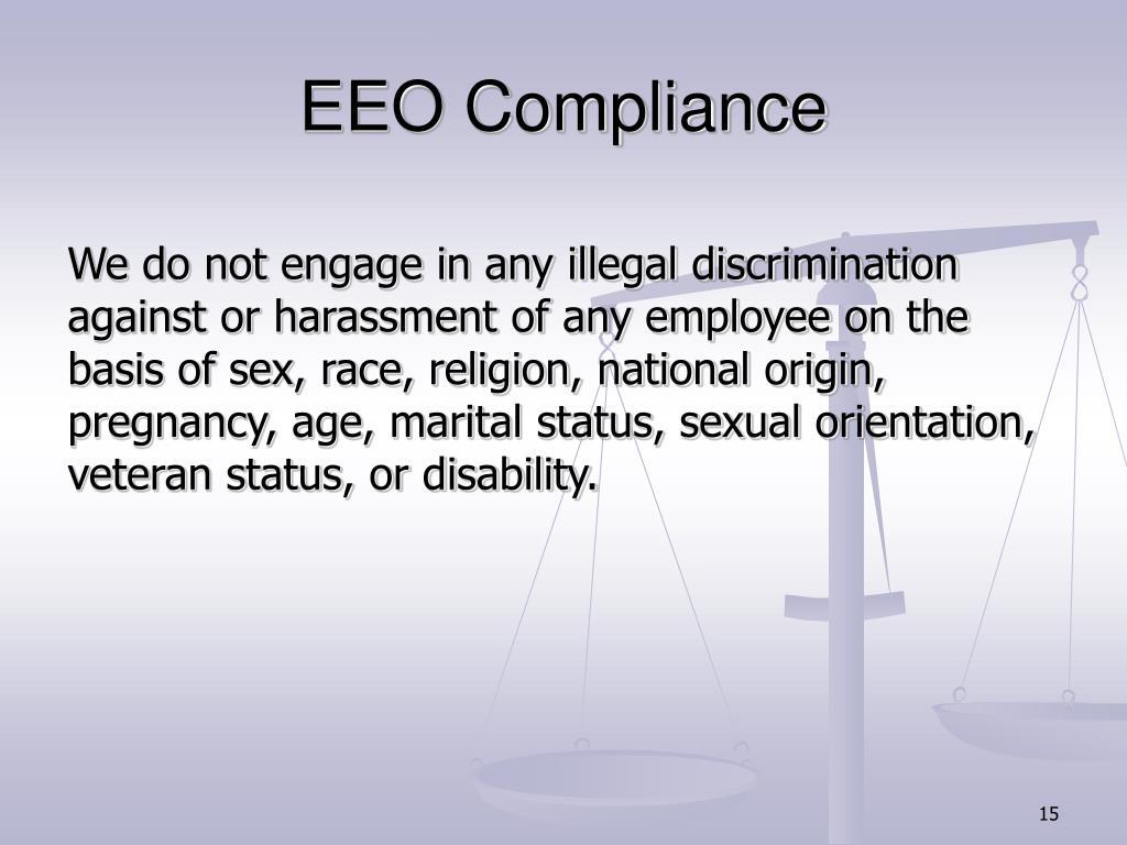 EEO Compliance
