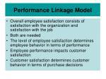 performance linkage model25