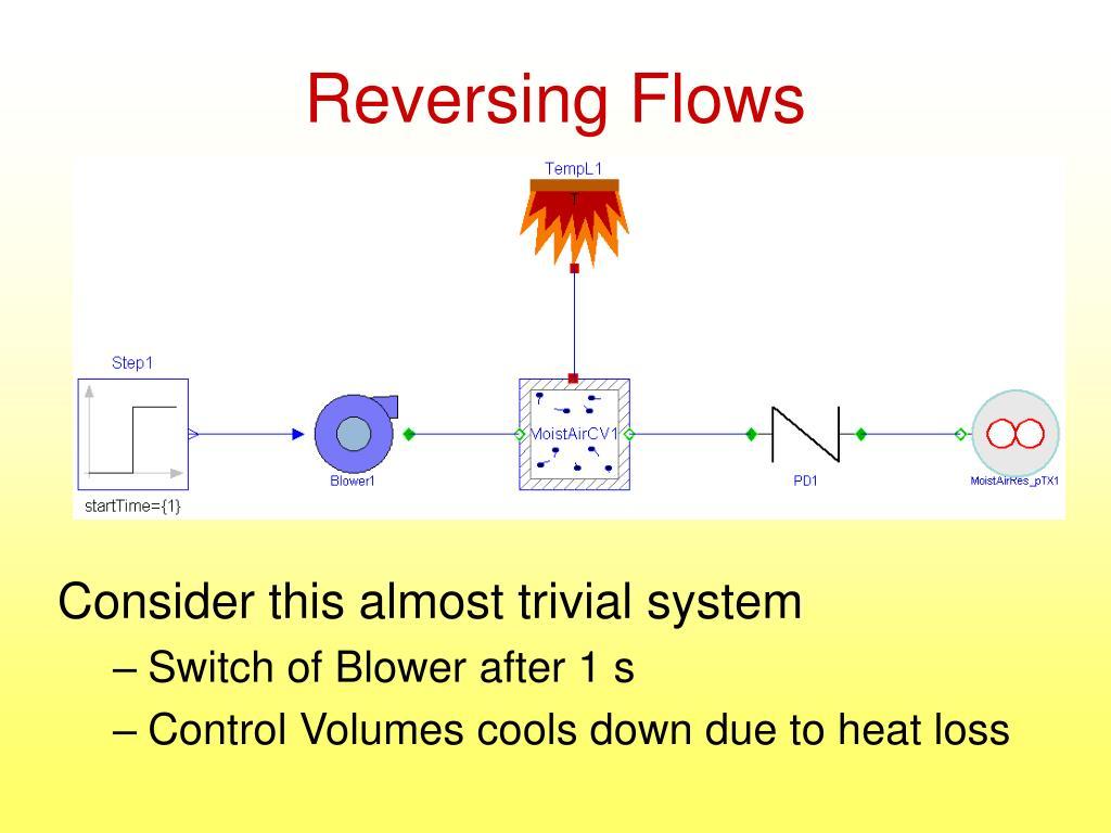 Reversing Flows