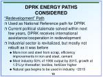 dprk energy paths considered