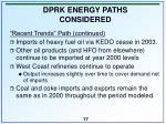 dprk energy paths considered17