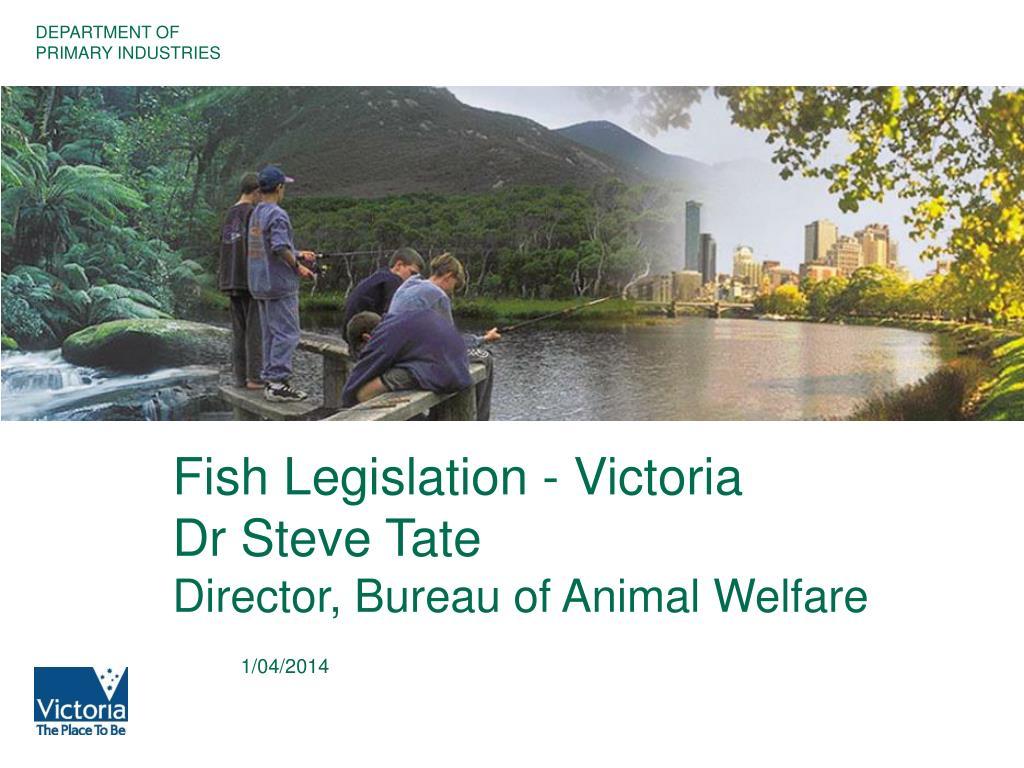 Fish Legislation - Victoria