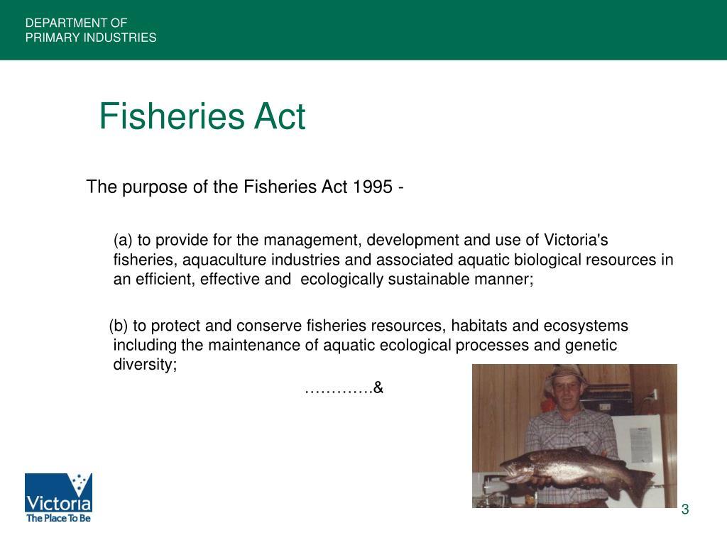 Fisheries Act