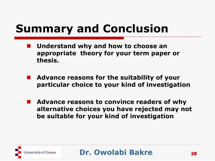 advanced thesis The thesis statement usually appears at the end of the first paragraph of a paper 4 your topic may change as you write, so you may need to revise your thesis statement to reflect exactly what you have discussed in the paper.