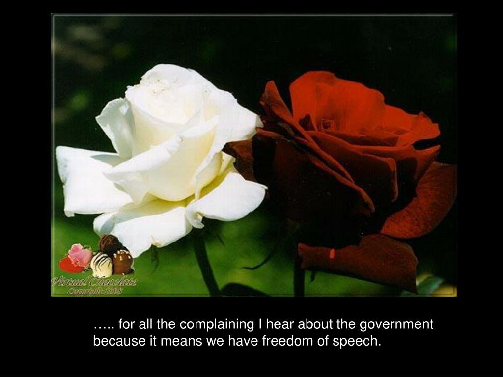 ….. for all the complaining I hear about the government