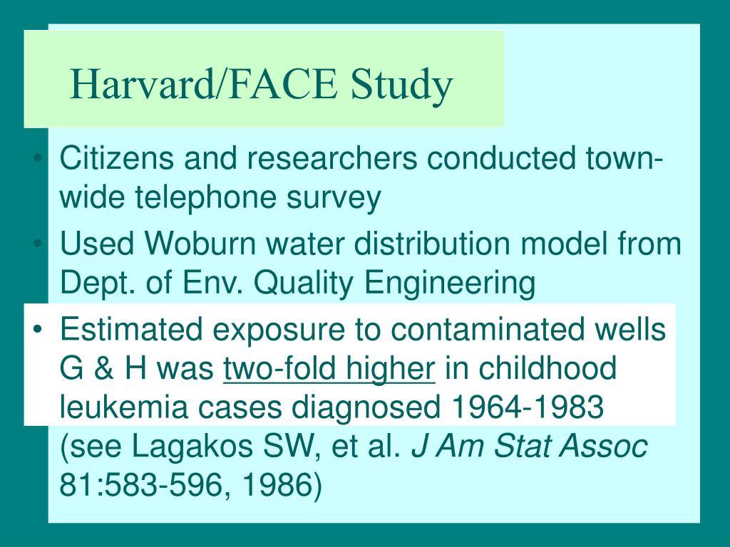 Harvard/FACE Study