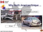 why north american unique