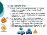 silica tetrahedron